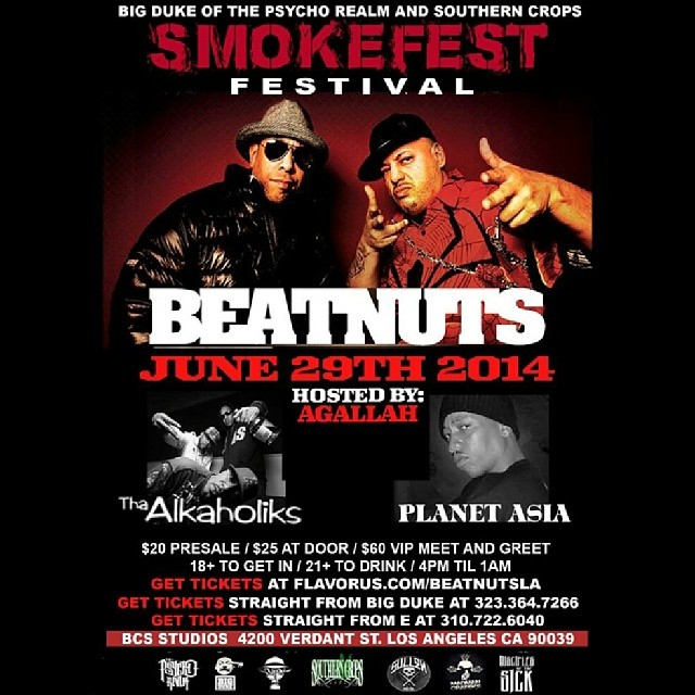 smokefest_beatnuts_june 29th_steelo magazine