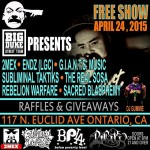 Big Dukes event April 24th 2015