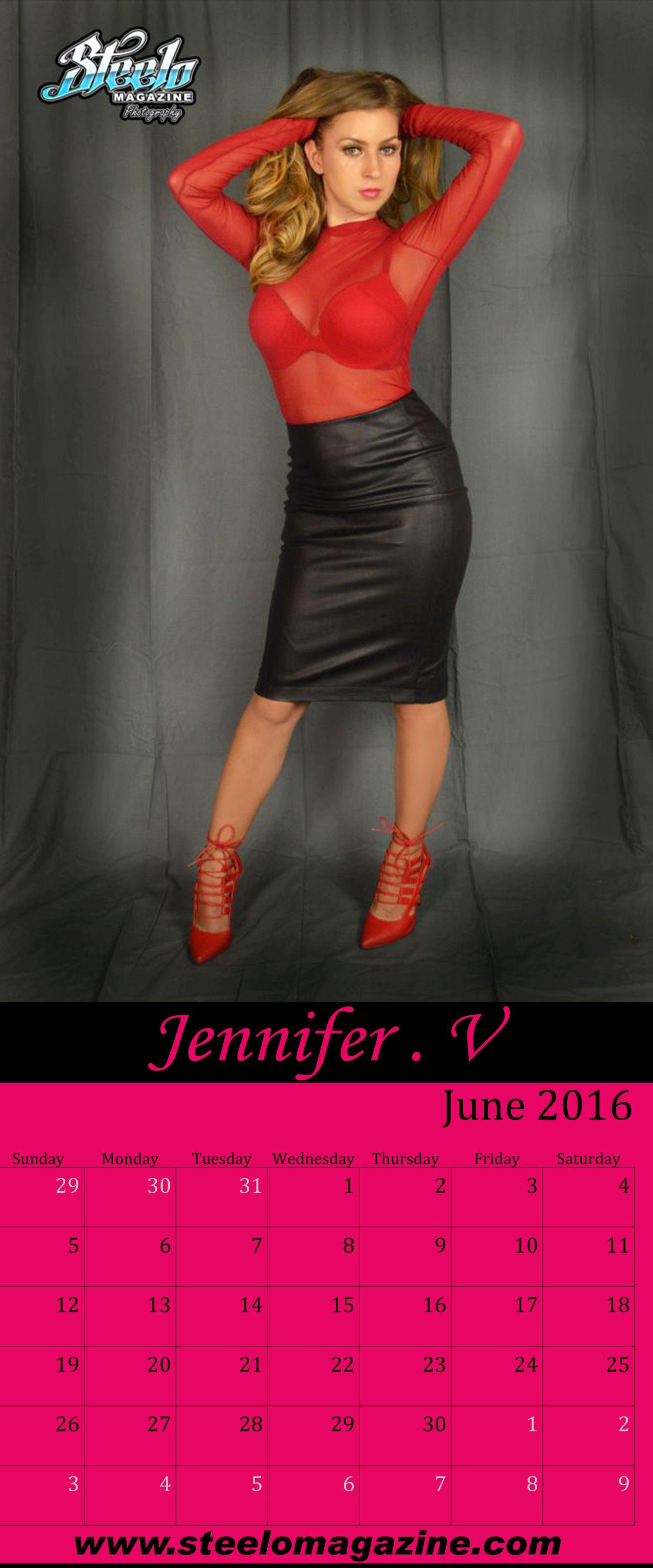 June 2016 Calendar Jennifer V 2