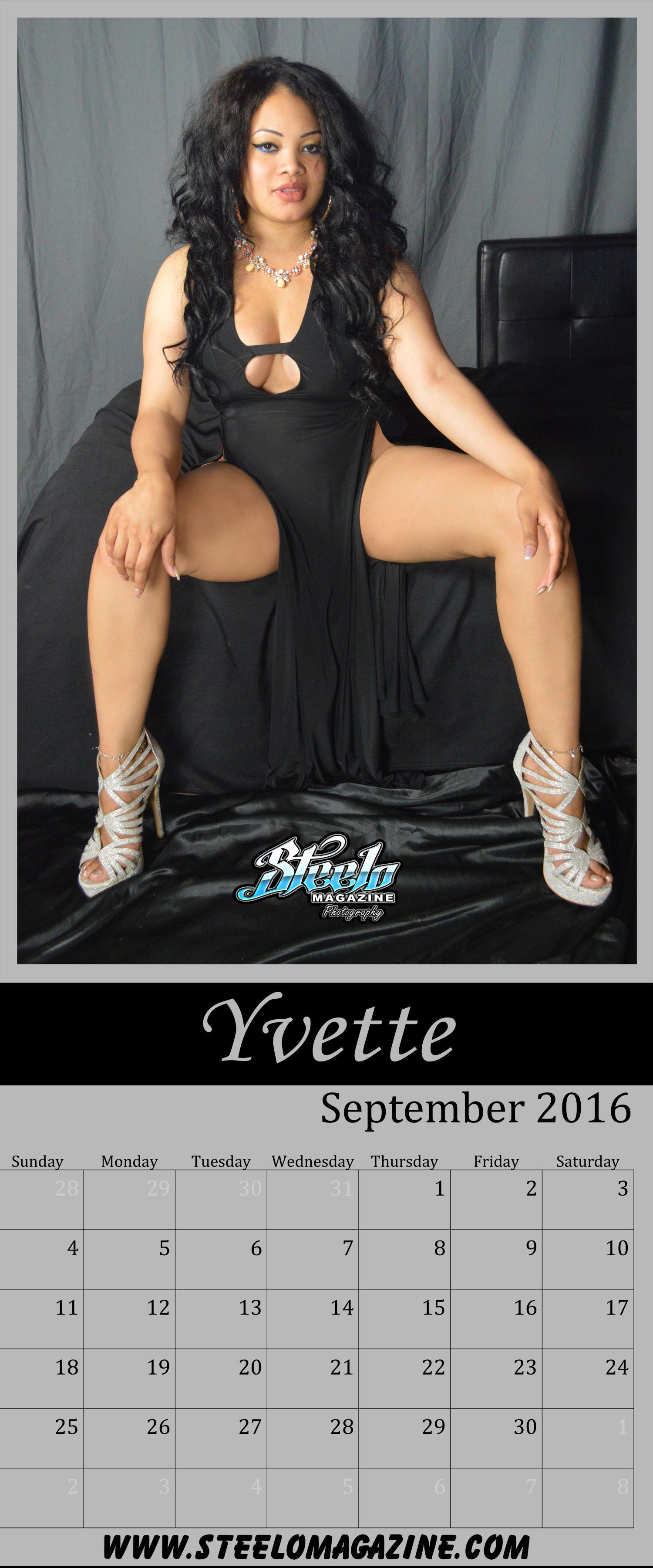 September 2016 Calendar Yvette 2