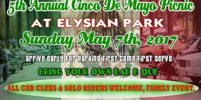 LA Times Car Club 5th Annual Cinco de Mayo Picnic